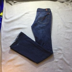 3 for $30 Dish bootcut blue jeans size 28